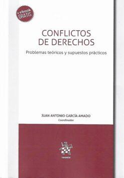capa do livro conflitos de derechos