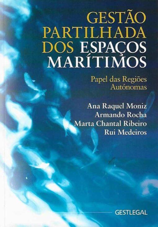 capa do livro gestão partilhada dos espaço marítimos