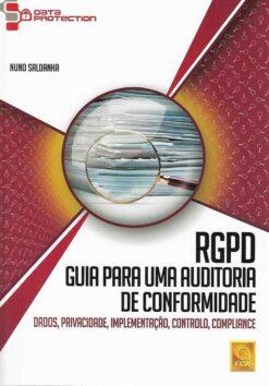 Capa do livro RGPD Guia para um Auditoria de Conformidade