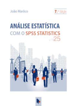 Capa do livro Análise Estatística com o SPSS Statistics