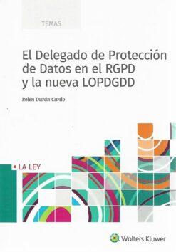 capa do livro El delegado de Proteccíon de Datos en el RGPD y la nueva LOPDGDD