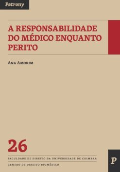 capa do livro A Responsabilidade do Médico Enquanto Perito