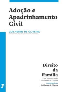 capa do livro Adoção e Apadrinhamento Civil
