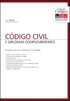 capa do livro Código Civil e Diplomas Complementares