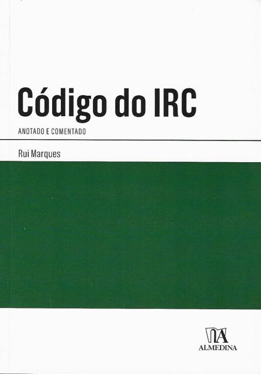 capa do livro Código do IRC