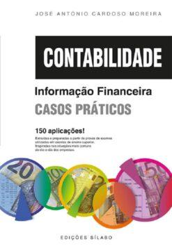 capa do livro Contabilidade informação financeira casos praticos