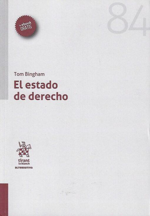 capa do livro El estado de derecho