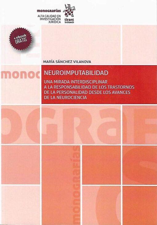 capa do livro Neuroimputabilidad