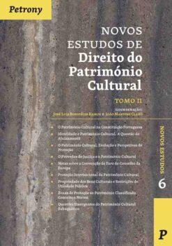 capa do livro Novos Estudos de Direito do Património Cultural