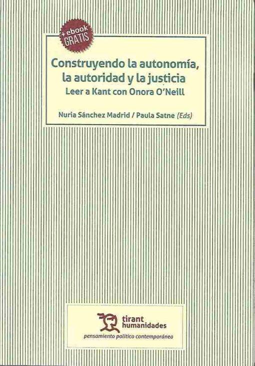 capa do livro construyendo la autonomia la autoridad y la justicia