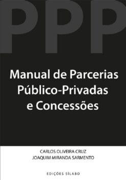 capa do livro manual de parcerias público-Privadas e concessões