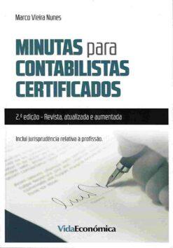 capa do livro minutas para contabilistas certificados