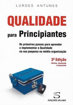 capa do livro qualidade para principiantes