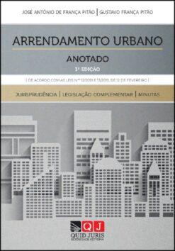 capa do livro arrendamento urbano anotado