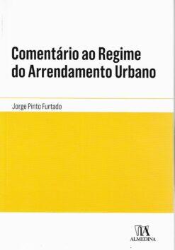 capa do livro Comentário ao Regime do Arrendamento Urbano