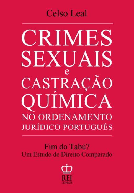 Capa do livro Crimes Sexuais e Castração Química
