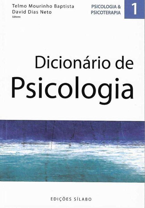 capa do livro Dicionário de Psicologia