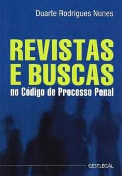 capa do livro Revistas e Buscas no Código de Processo Penal