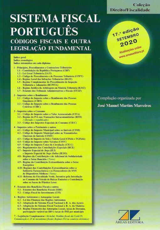 Capa do livro Sistema Fiscal Portugues