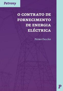 capa do livro o contrato de fornecimento de energia eléctrica