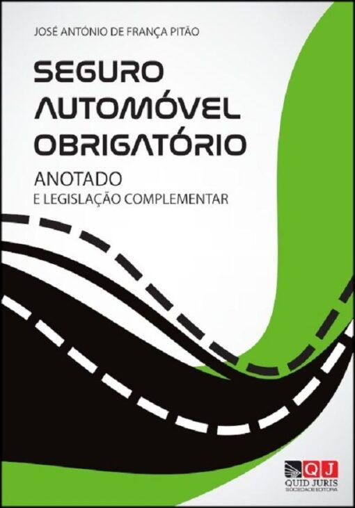 capa do livro seguro automovel obrigatorio