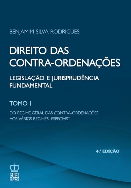 Capa do livro Direito das Contra-ordenações Tomo I