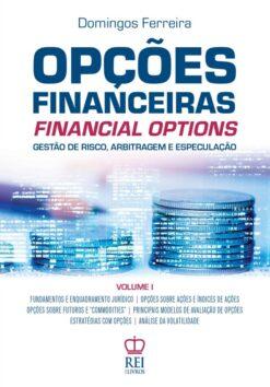Capa do Livro Opções Financeiras vol. 1