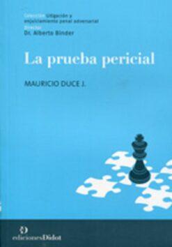 capa do livro La prueba Pericial