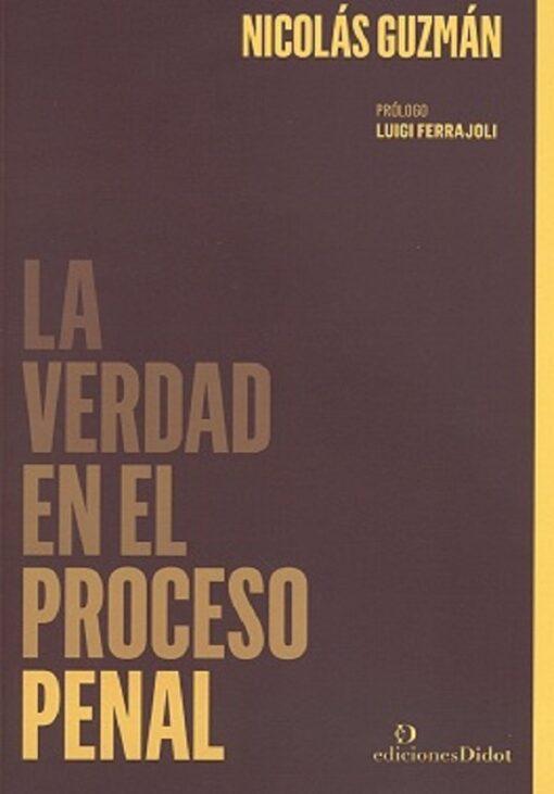 capa do livro La verdad en el proceso penal