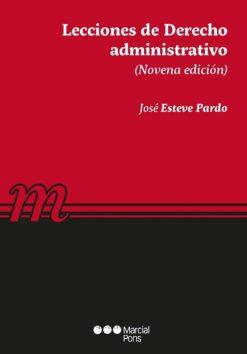 capa do livro Lecciones de Derecho administrativo