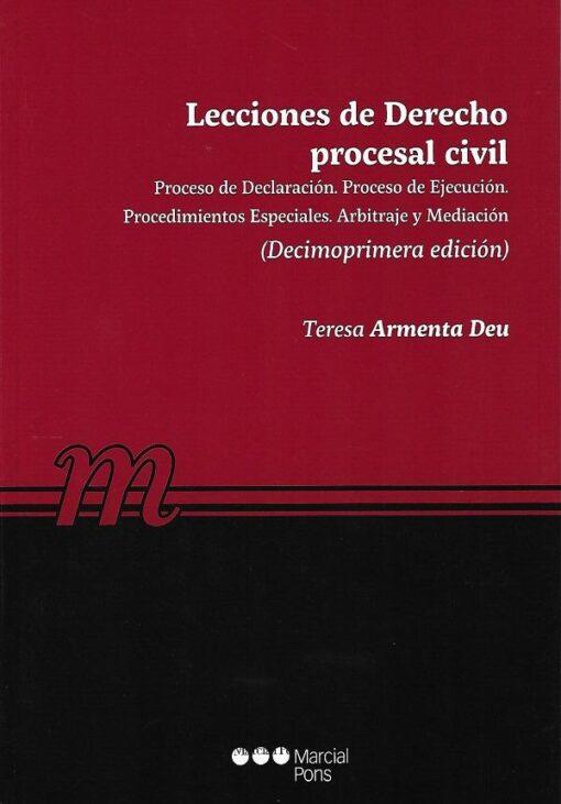 capa do livroLecciones de Derecho procesal civil