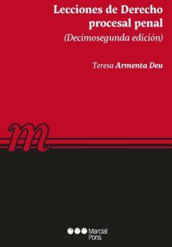 capa do livro Lecciones de Derecho procesal penal