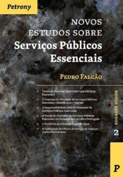 capa do livro Novos Estudos sobre serviços públicos essenciais