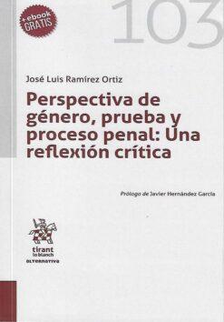capa do livro Perspectiva de género, prueba y proceso penal