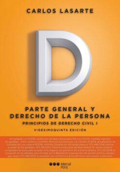 capa do livro Principios de Derecho Civil I