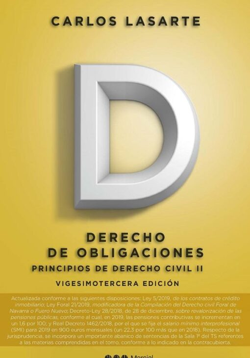 capa do livroPrincipios de Derecho civil II