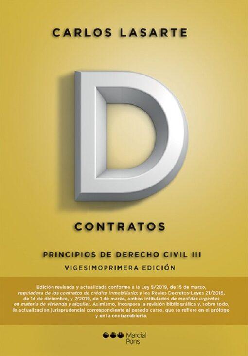 capa do livro Principios de Derecho civil III