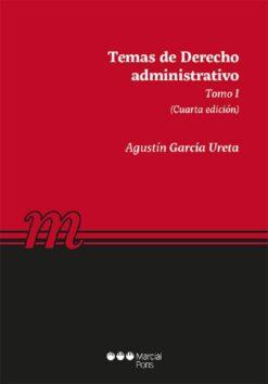 capa do livro Temas de Derecho administrativo tomo I