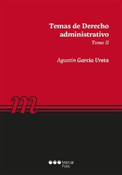 capa do livro Temas de Derecho administrativo tomo II