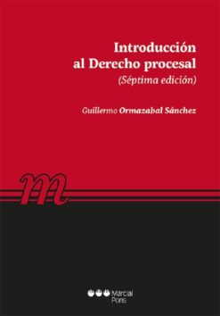 capa do livro introcuccion al derecho procesal