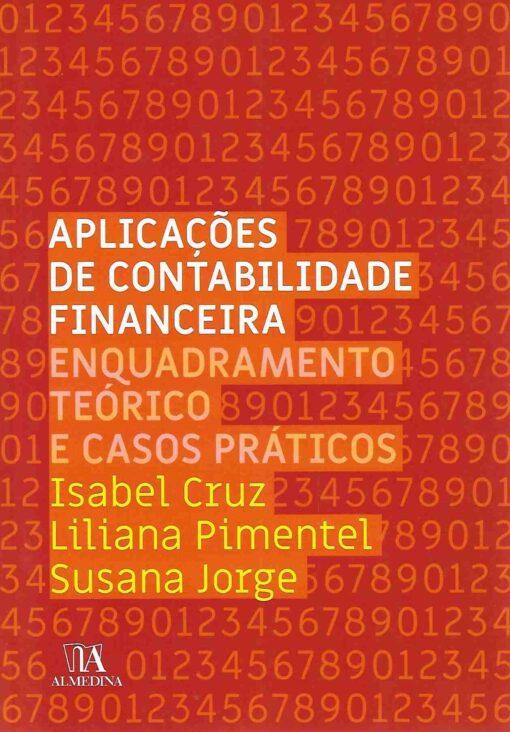 Capa do Livro Aplicações de Contabilidade Financeira Enquadramento Teórico e Casos Práticos