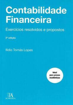 Capa do livro Contabilidade Financeira Exercícios resolvidos e Propostos
