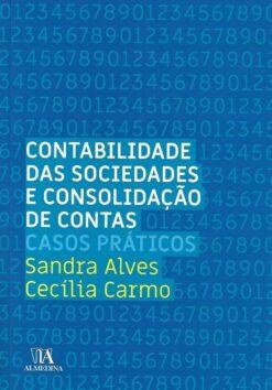 Capa do Livro Contabilidade das Sociedades e Consolidação de Contas