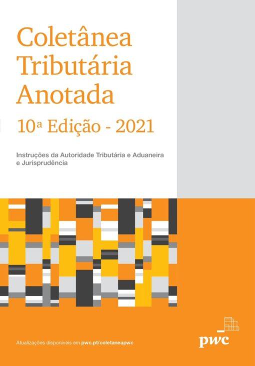 Capa do livro Coletânea Tributária Anotada 2021
