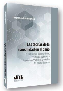 Capa do livro Las teorias de la causalidad en el dano