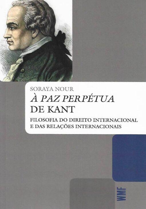 capa do livro a paz perpétua de kant