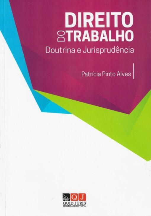 capa do livro direito do trabalho doutrina e jurisprudencia