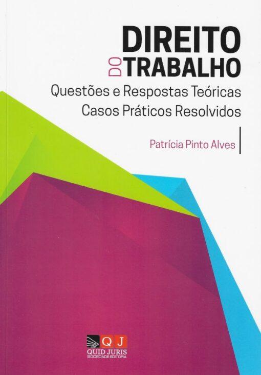 capa do livro direito do trabalho questões e respostas teoricas casos praticos resolvidos
