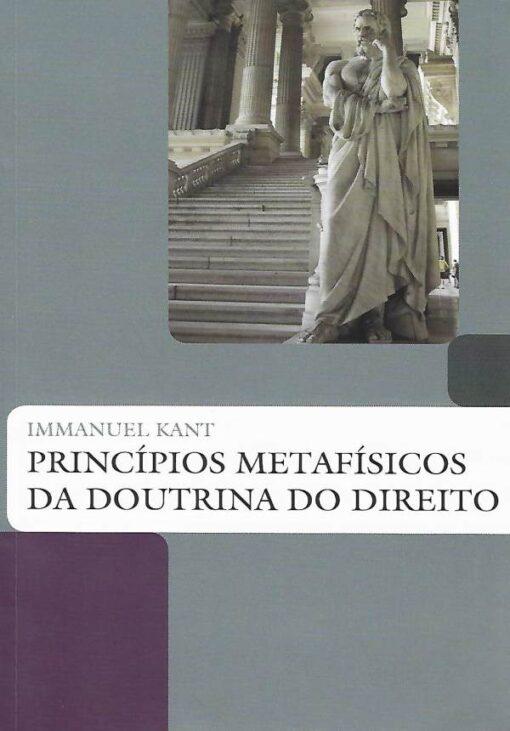 capa do livro principios metafisicos da doutrina do direito