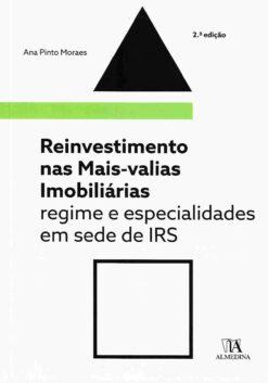 Capa do livro Reinvestimento nas Mai-Valias Imobiliárias